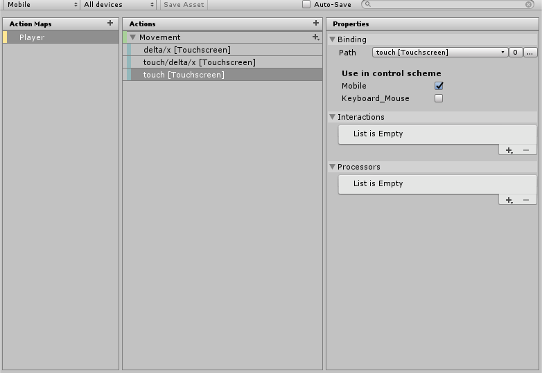 New Input System - Mobile integration - Unity Forum