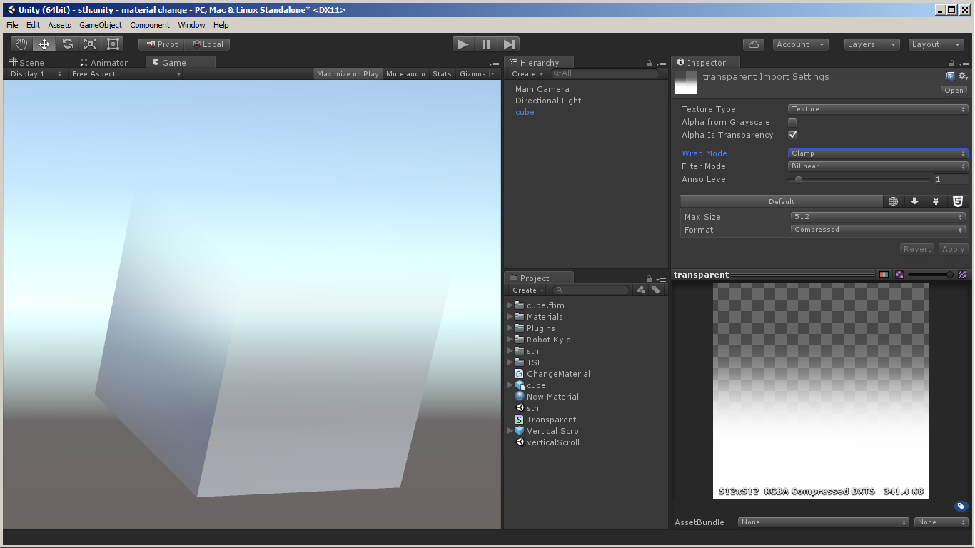 Transparency with Standard Surface shader - Unity Forum