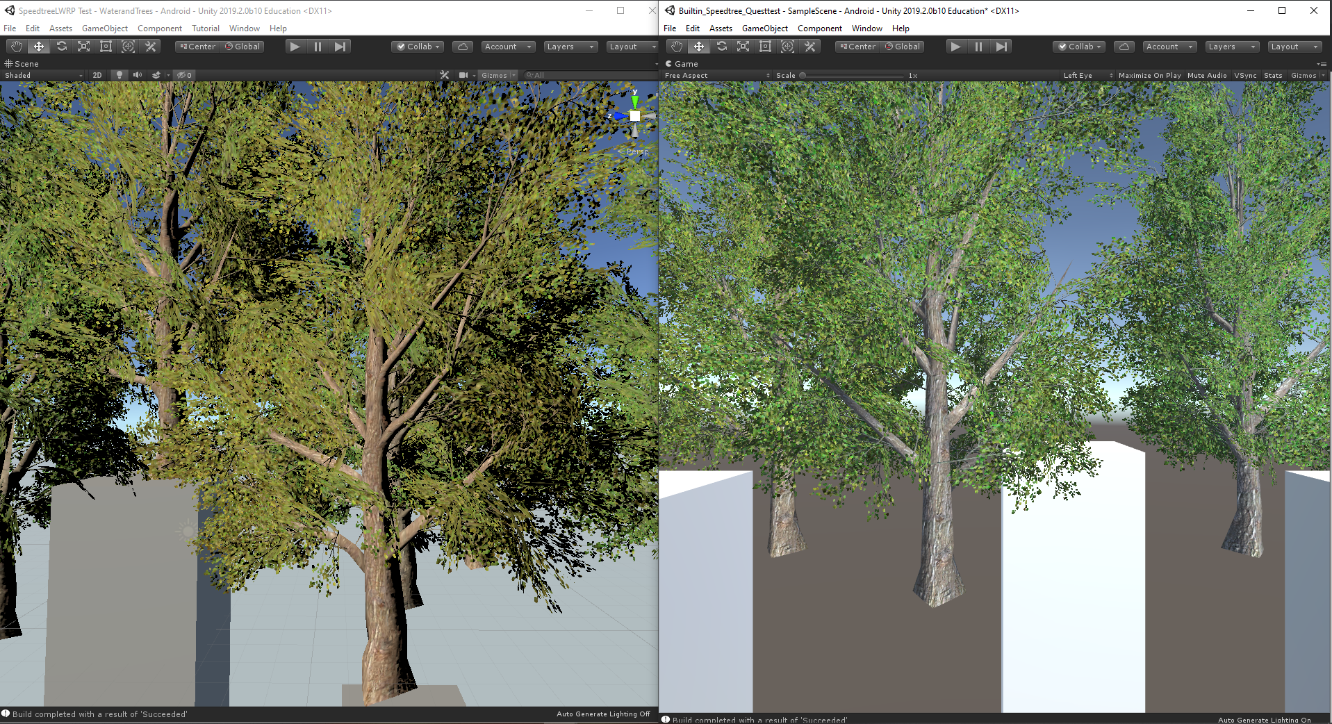 treescompare LWRP and builtin.PNG