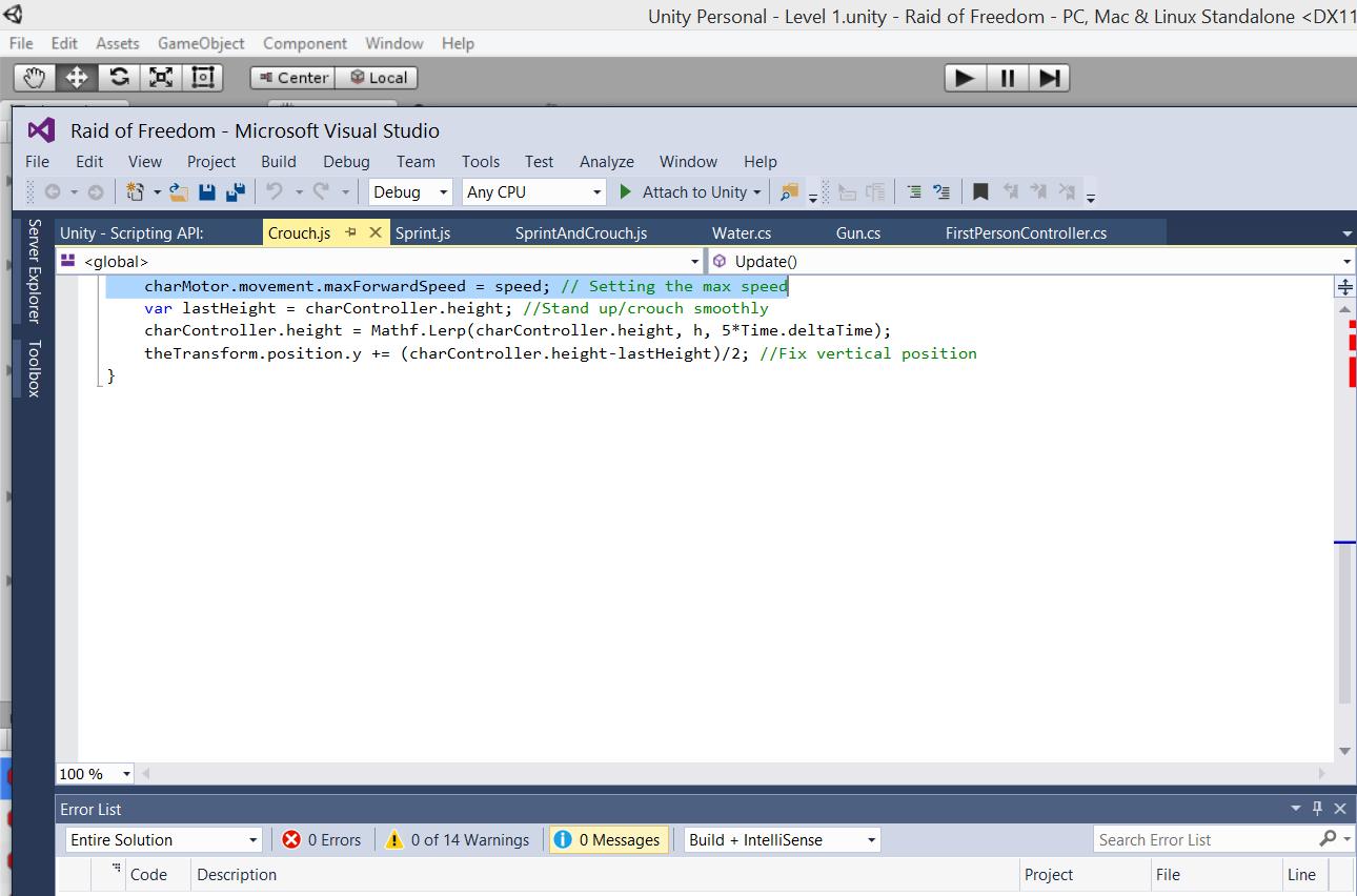 Error Codes Script C# - Unity Forum
