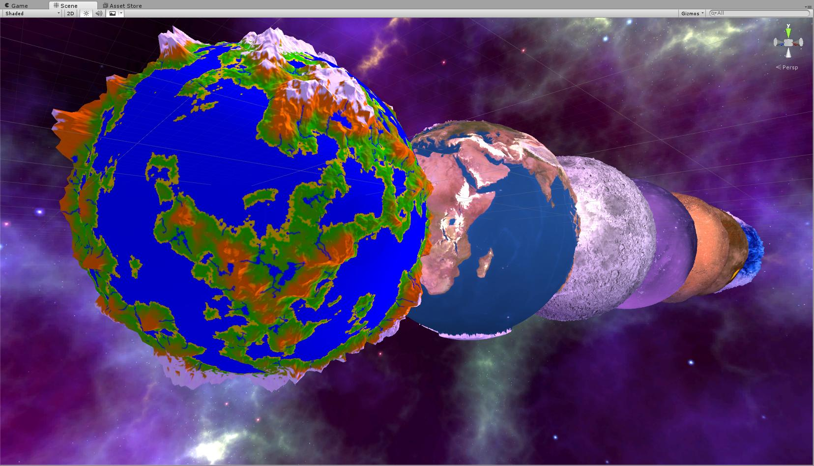 Height-map on Sphere, Which method is best? - Unity Forum