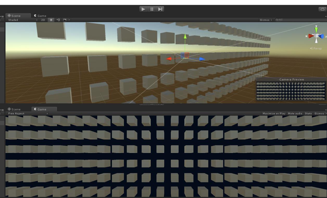 Feedback - Perspective Rendering Distortion On Side Of Wide Screens