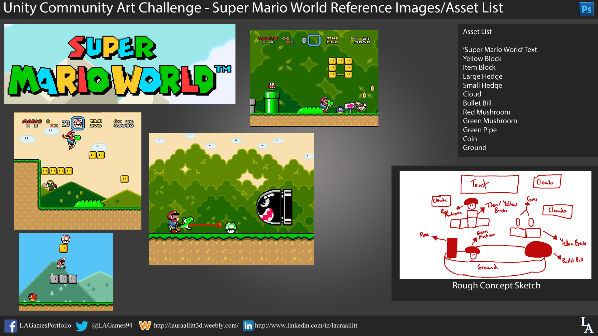 Unity Community Art Challenge - SMW Reference Images and Asset List.png