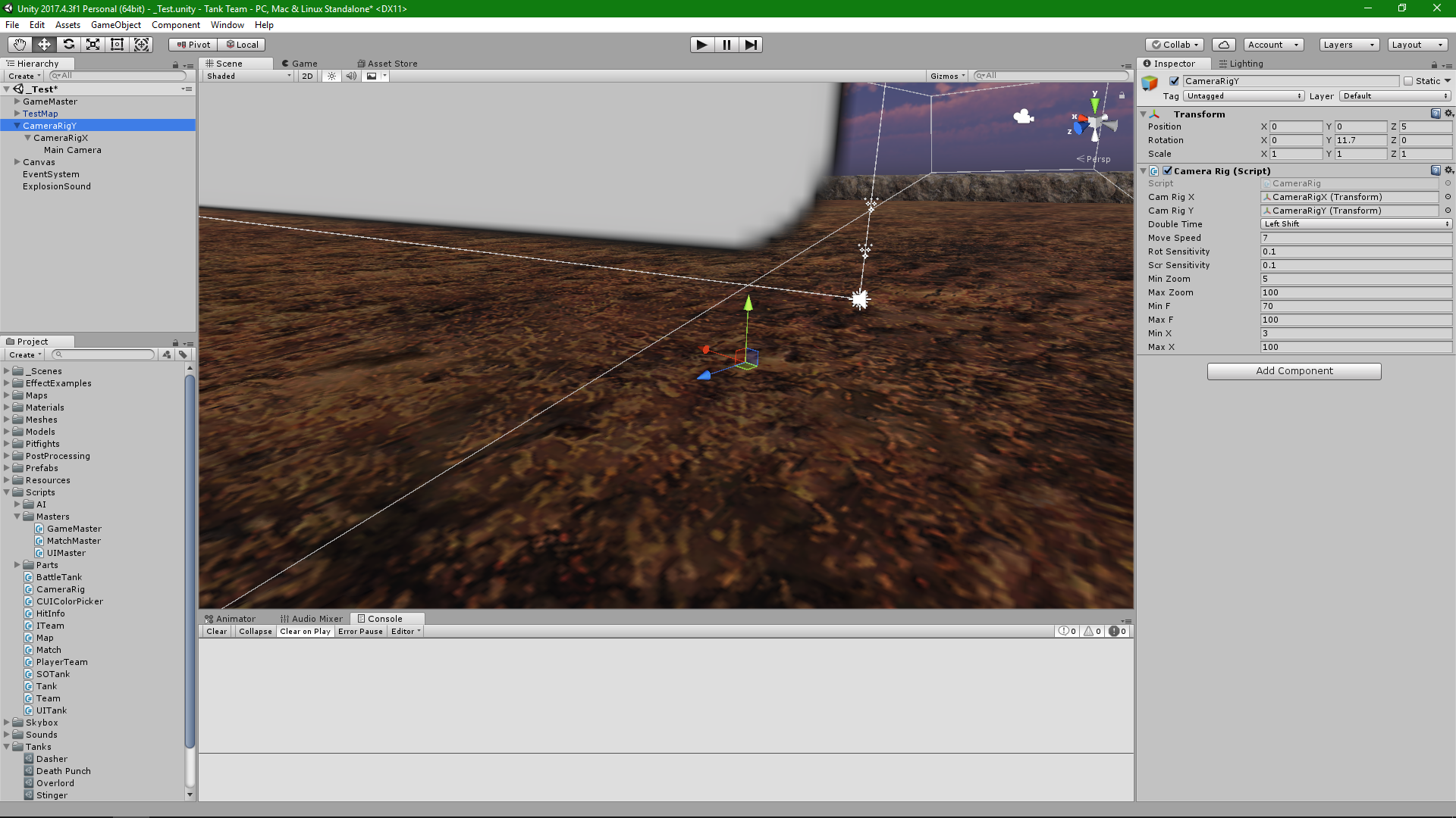 Third person Moba camera rotation (y-axis) - Unity Forum