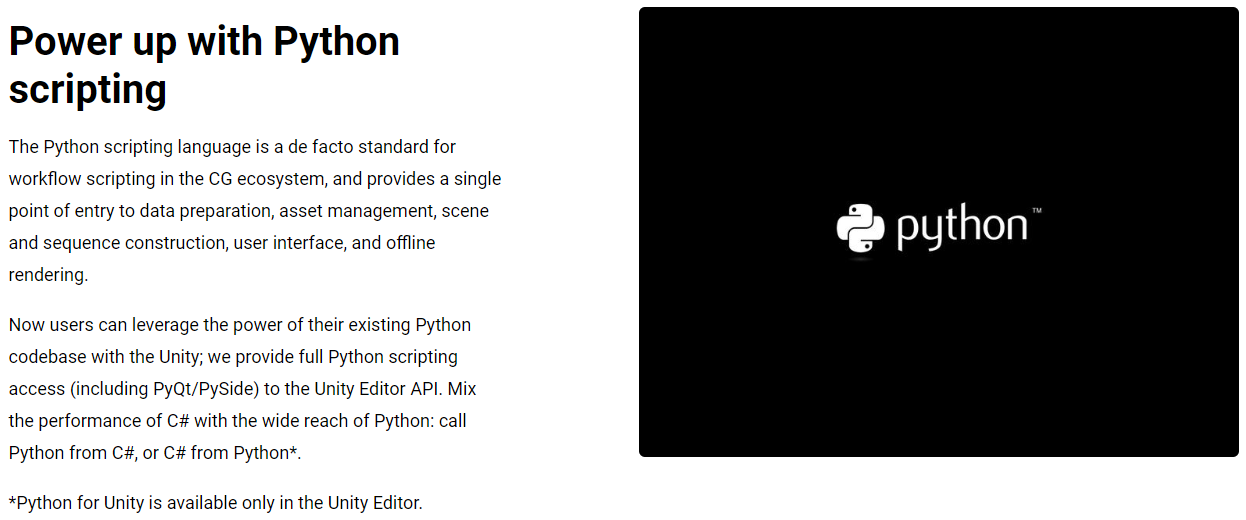 Python in Unity Editor - Unity Forum