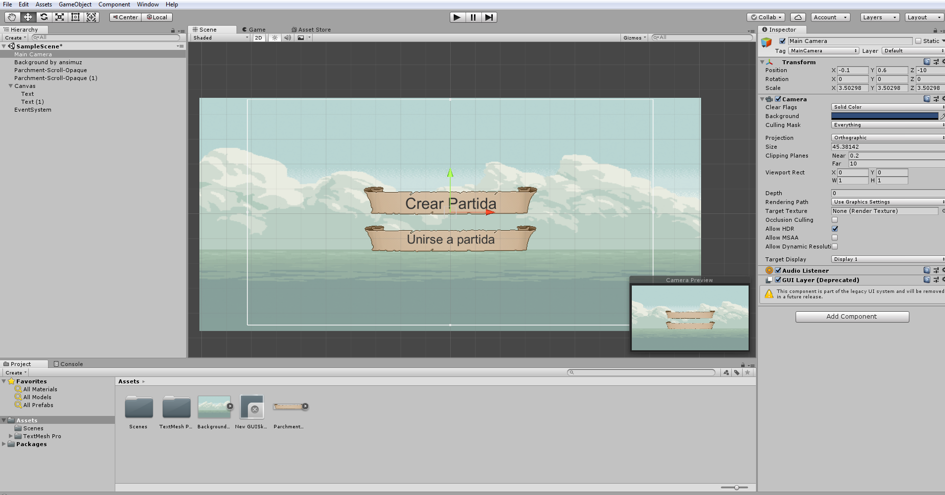 Unity UI - UI Canvas text not visible at Game - Unity Forum