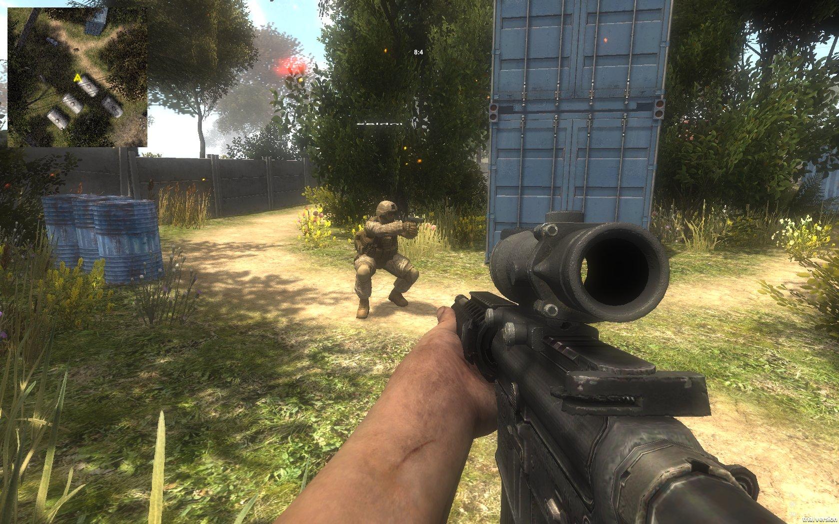 Как сделать first person shooter на unity