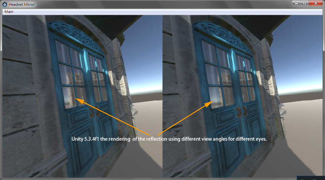 Reflection Rendering Wrong in OpenVR + hTC VIVE - Unity Forum