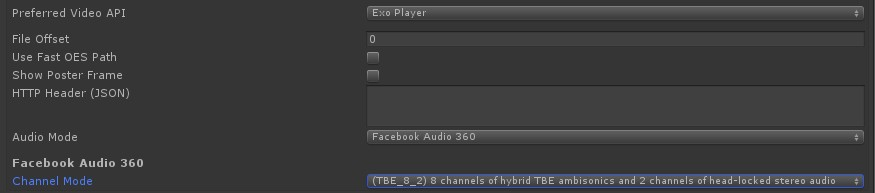 Video - 360 Video with Embedded Ambisonic Audio - Unity Forum