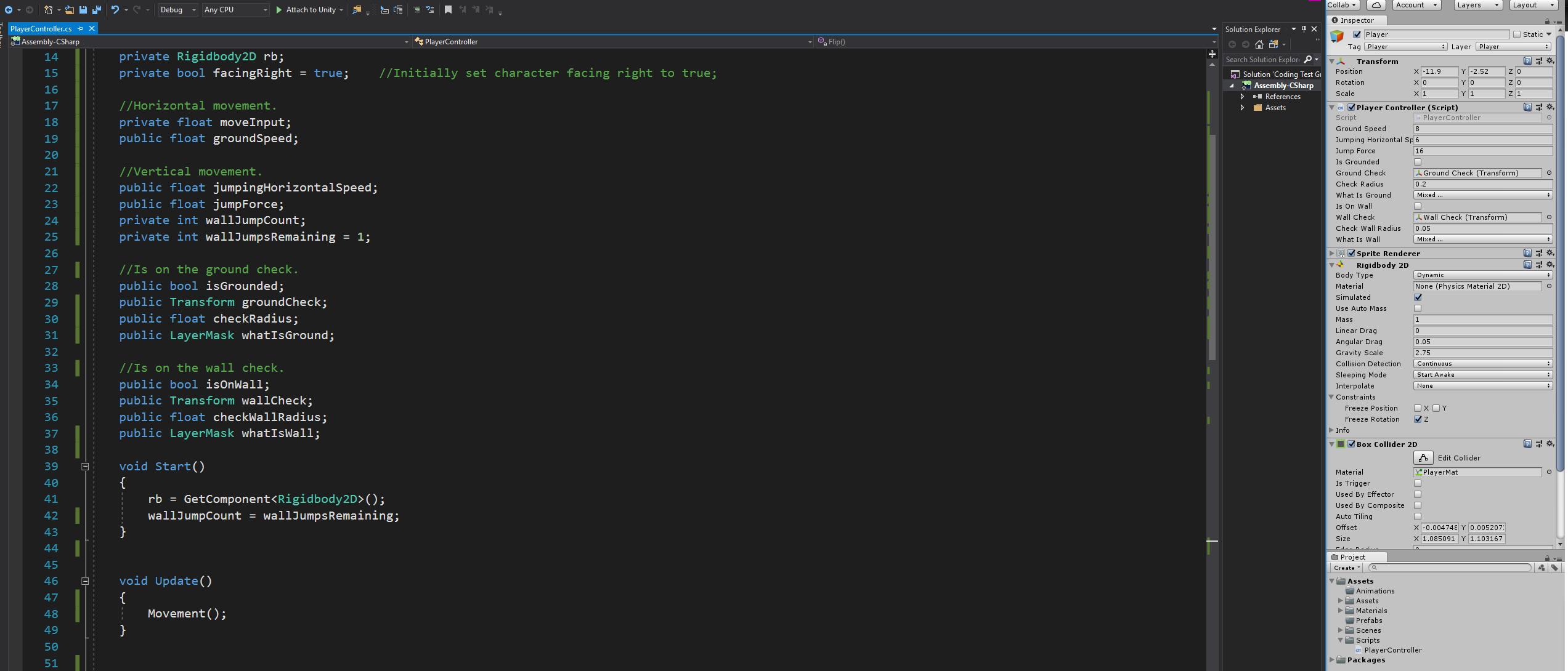 Need help implementing a 2D Platformer Dash Mechanic