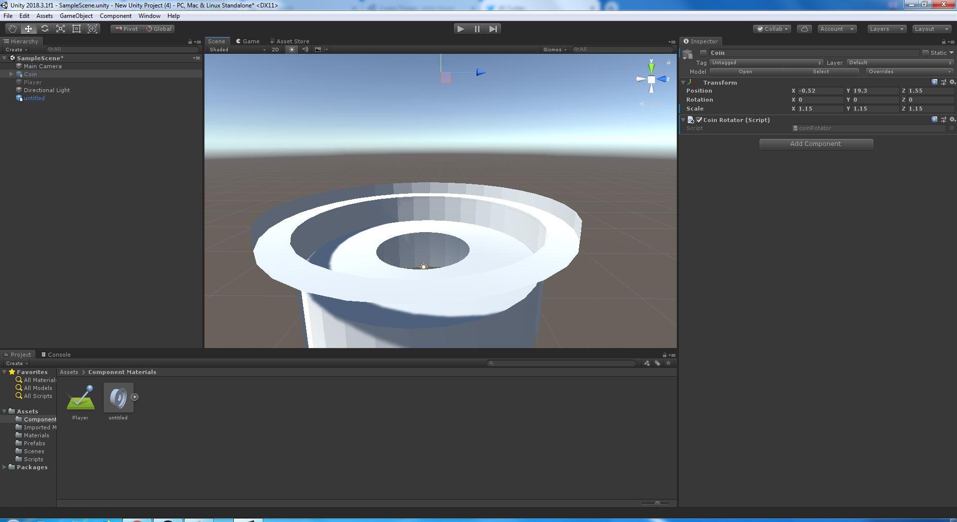 Unity Model Files