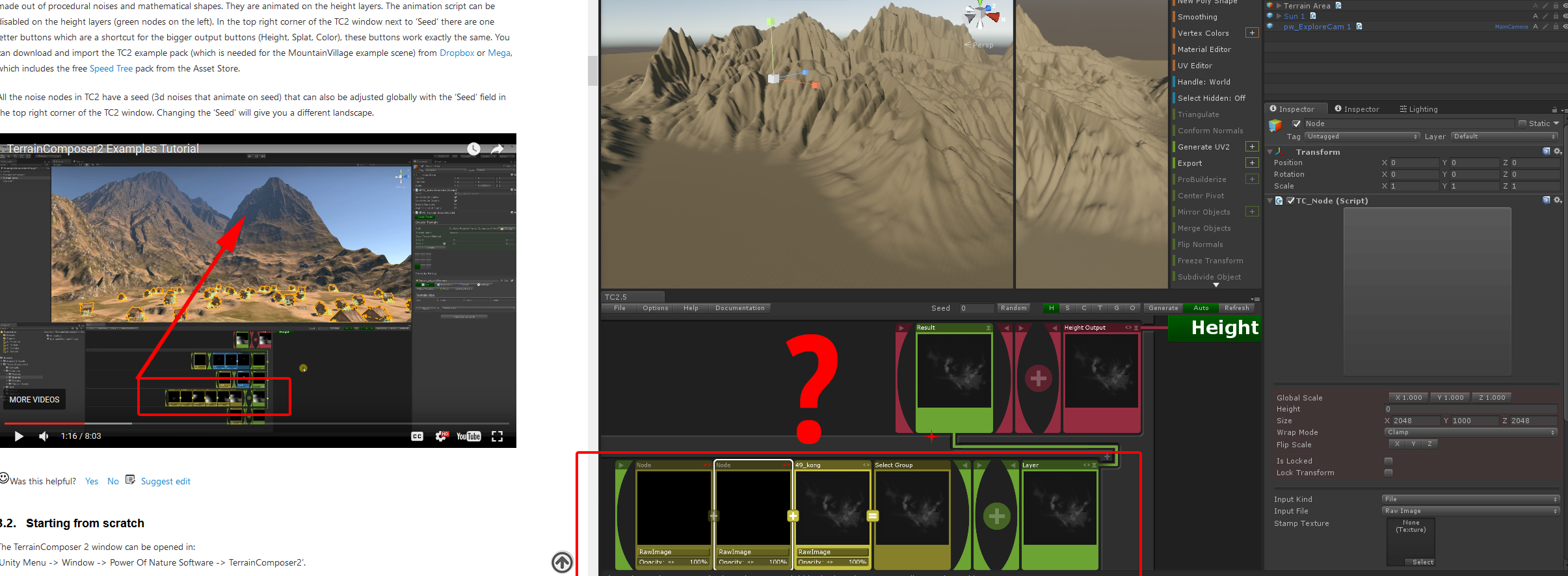 Terrain Composer2 a next generation GPU powered terrain tool