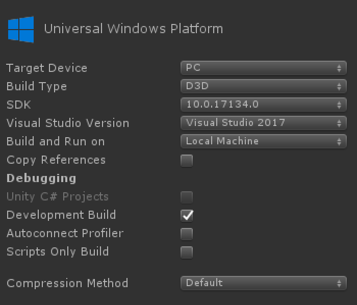 Xbox Live Il2Cpp UWP Build Environment Setup Problems