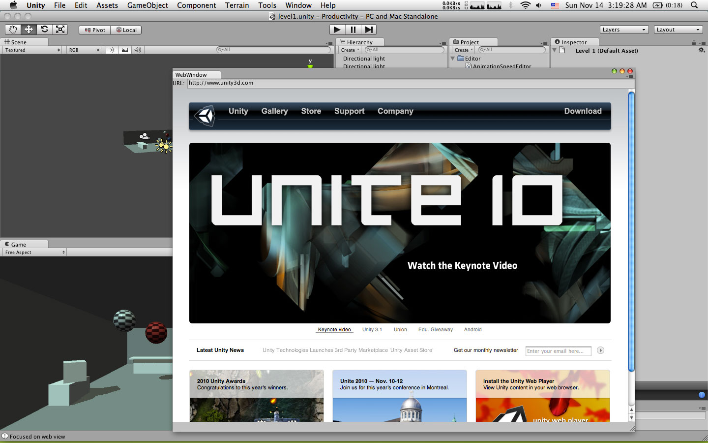Browsing the web within Unity Editor - Unity Forum
