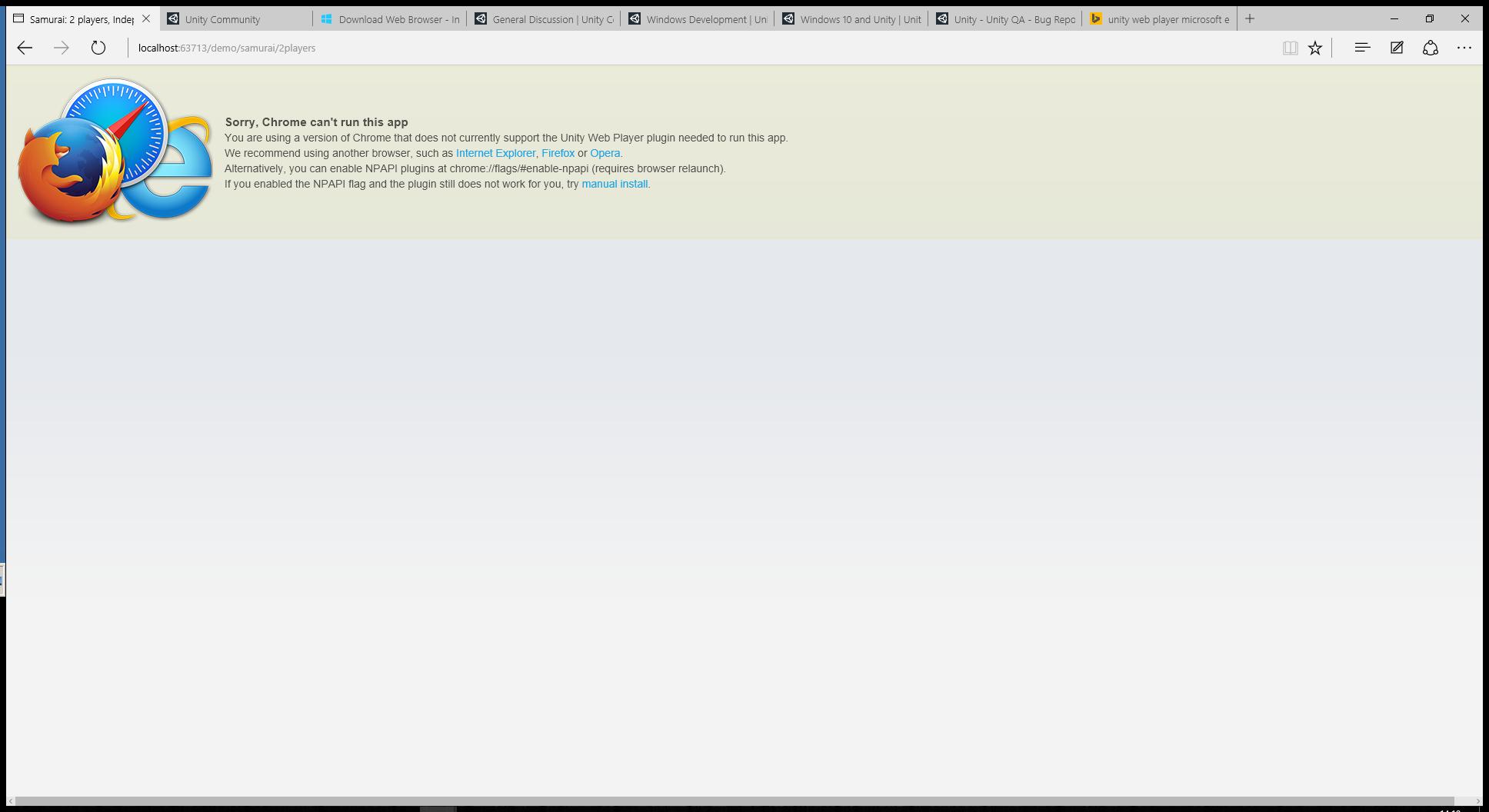 Unity web player 3d для windows 7