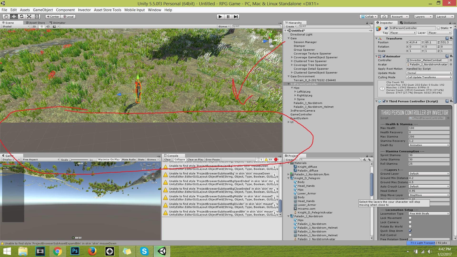 My Editor Camera can't get close to objects/terrain without