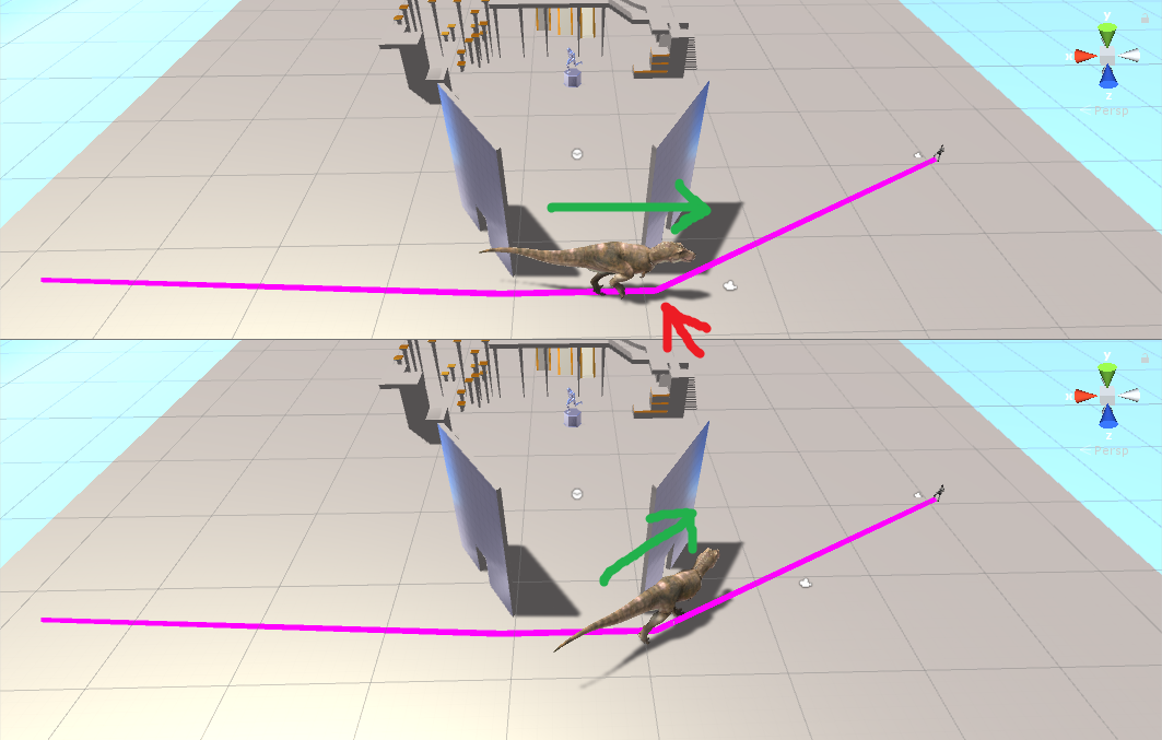 Can I smooth or curve the NavMesh path? - Unity Forum