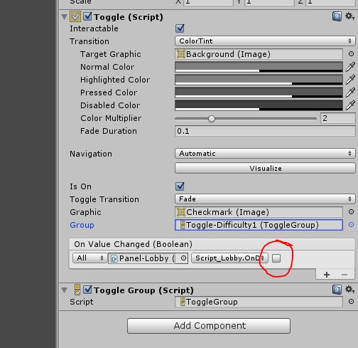 GUI toggle scripting - Unity Forum