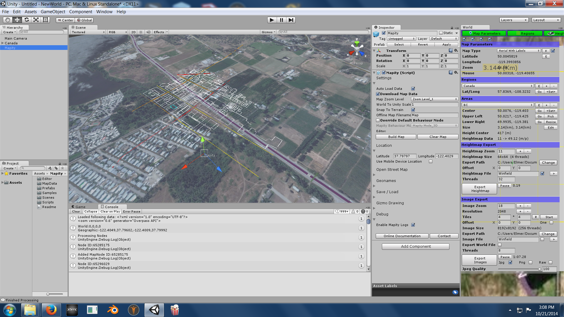 Mapity Open Street Map Data For Unity Official Page Unity Forum - Create street map