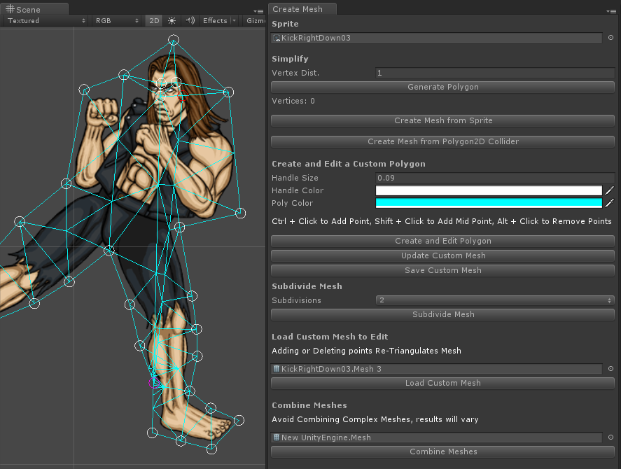 Release][Free] Unity Sprites And Bones - 2D skeleton