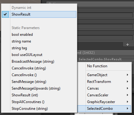 UI > new Dropdown element    how to use template options to send