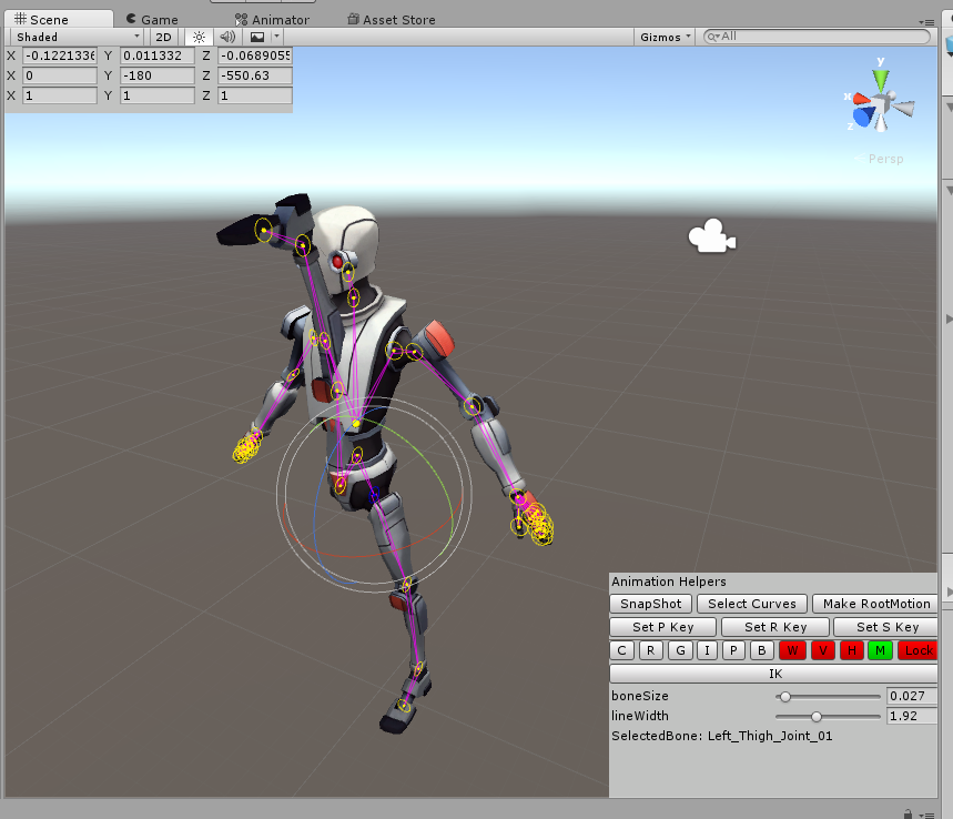 Unity Asset - Skele - Character Animation Tools : Bajar