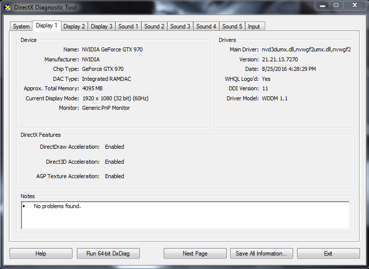 Crash: d3d11 dll caused an Access Violation (0xc0000005) in module