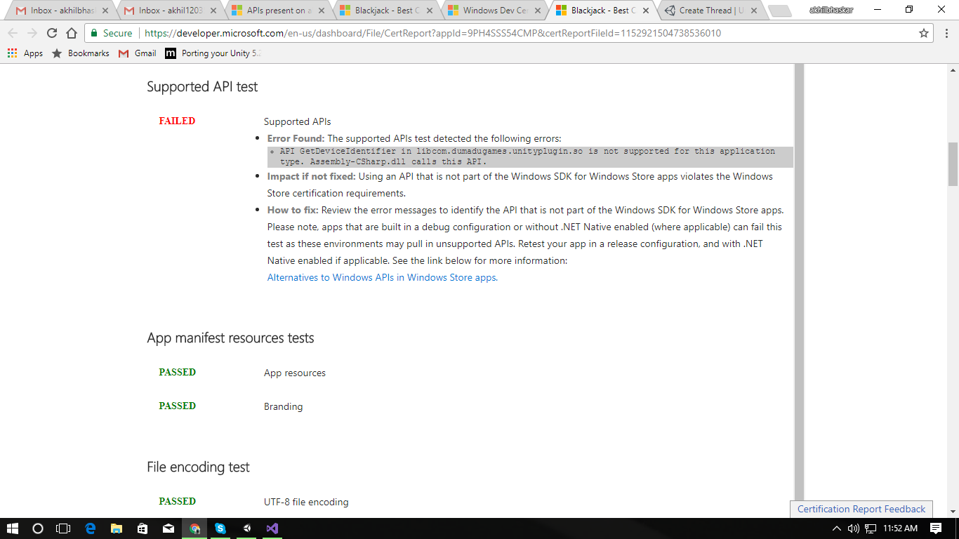 Supported api test failed unity community upload2017 10 711 56 37g 1betcityfo Gallery