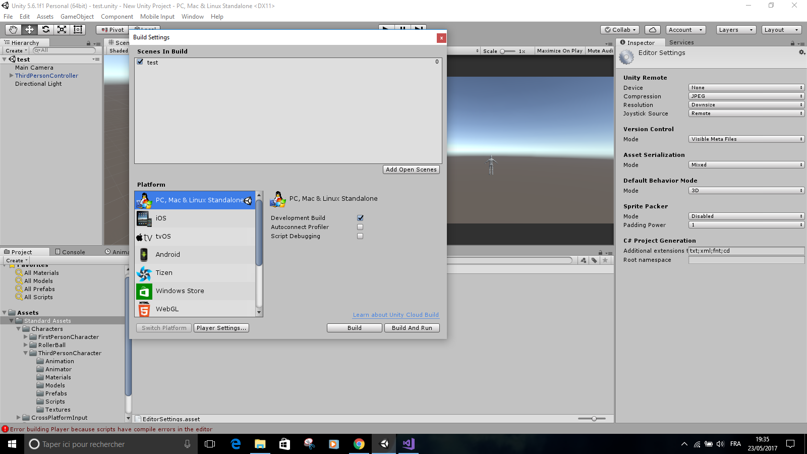 Unity 5 6 1f1 Build errors, Help me please ! - Unity Forum