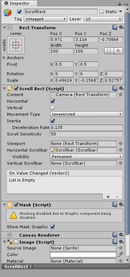 Let the camera move with a Scrollbar - Unity Forum