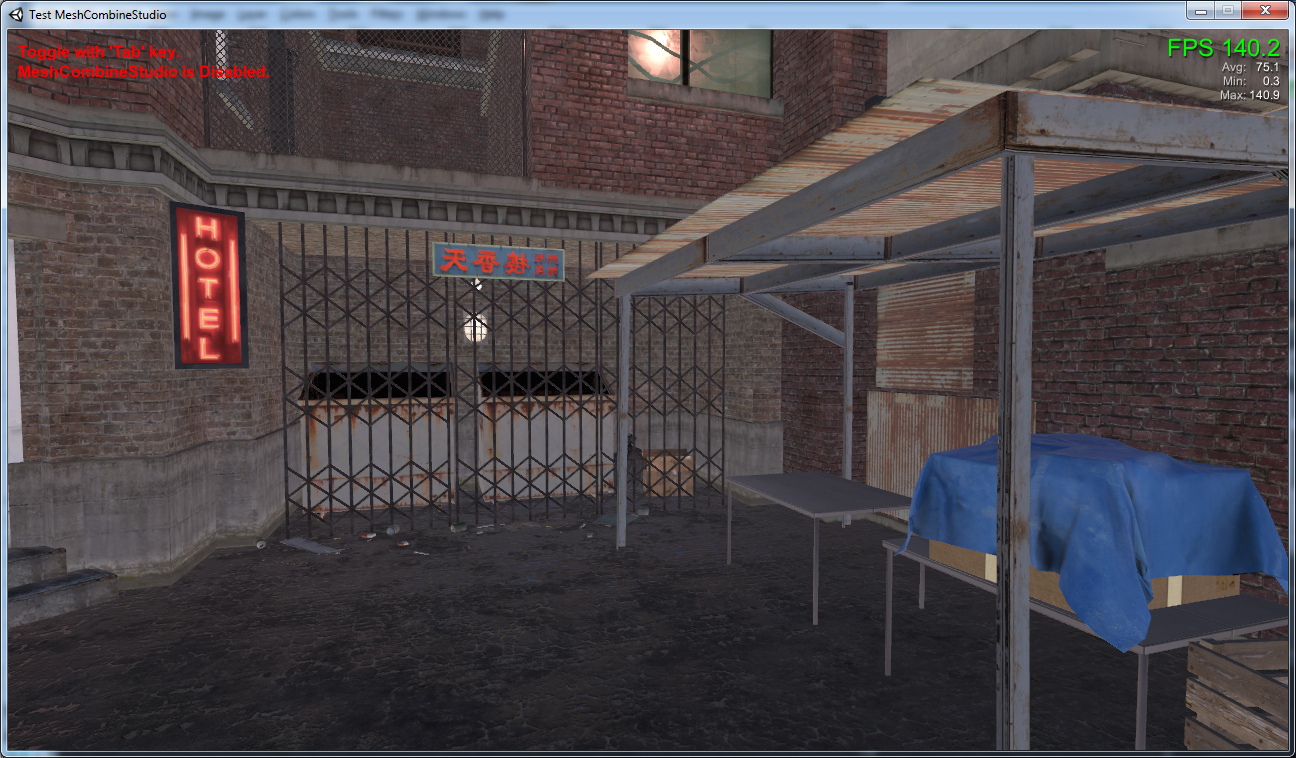 Mesh combine studio boost performance page 8 unity community results others are seeing with this modular alley pack demo im running the demo in 1280x720 windowed mode on fantastic settings the video card in my xflitez Gallery