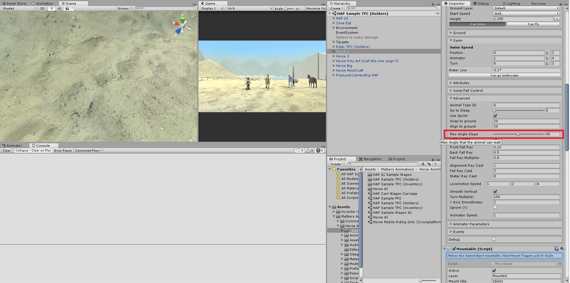 RELEASED] Horse Animset Pro 3 | Page 26 - Unity Forum