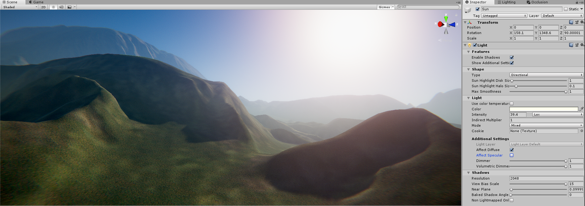 HDRP lit shader specular intensity - Unity Forum