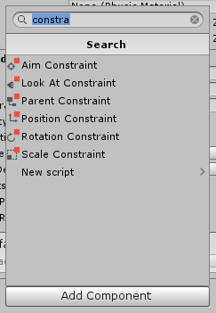 where are my constraints ? - Unity Forum