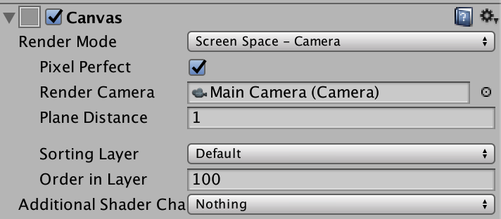 Screen space - camera canvas has 'choppy' UI when camera moves