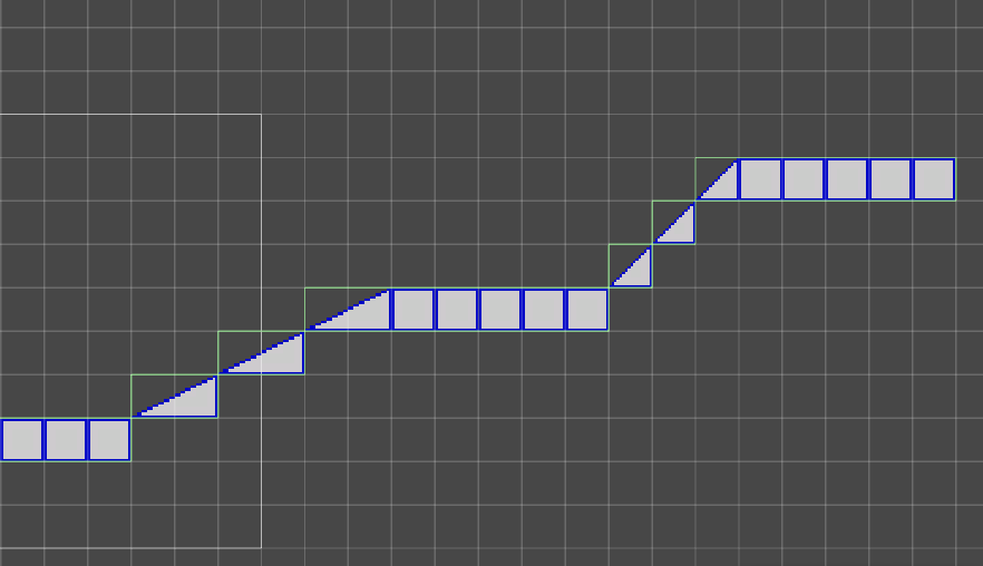 How to do tilemap collider on a slope - Unity Forum