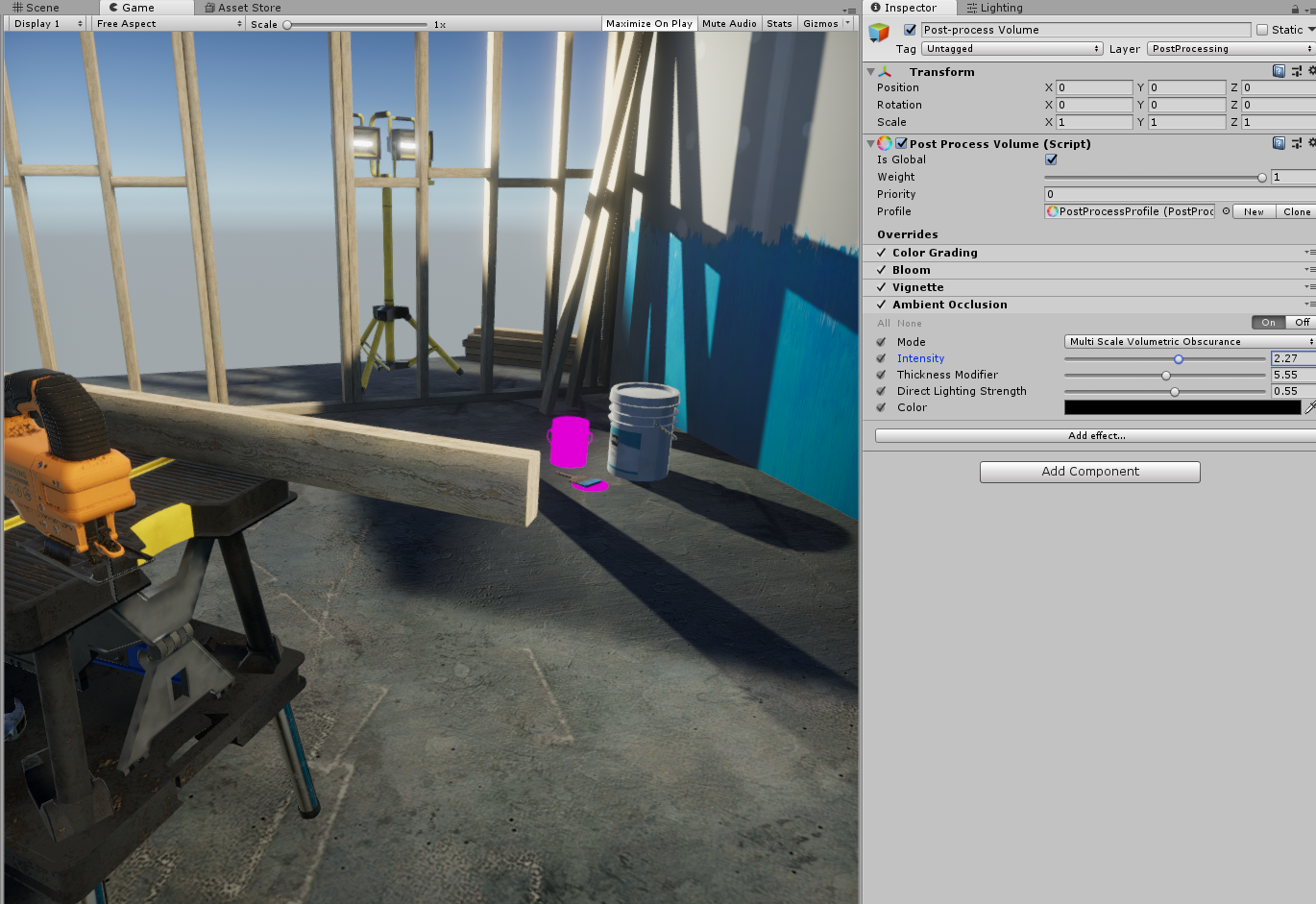 Post Process Ambient Occlusion not working with LWRP - Unity Forum