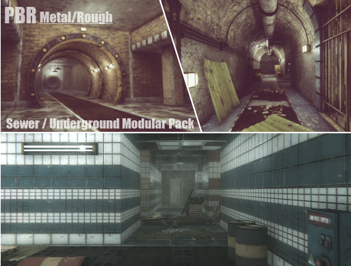 UPDATED] Sewer/Underground Modular Pack v4 0 is out now ! - Unity Forum