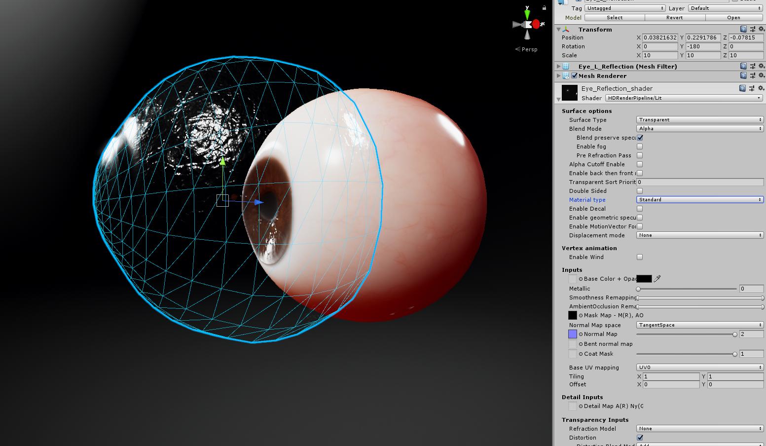 HDRP Eye Shader ??? - Unity Forum