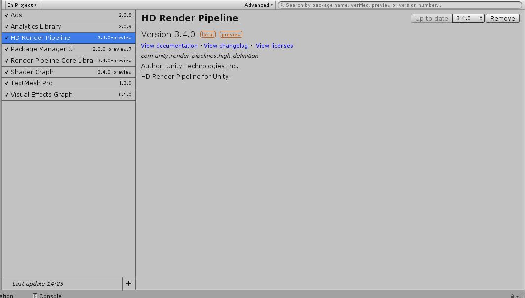 Feedback Wanted: Scriptable Render Pipelines | Page 19 - Unity Forum