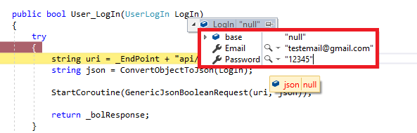 Convert to Json Null Reference??? - Unity Forum