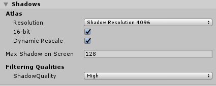 HDRP Spotlight Soft Shadows not working - Unity Forum