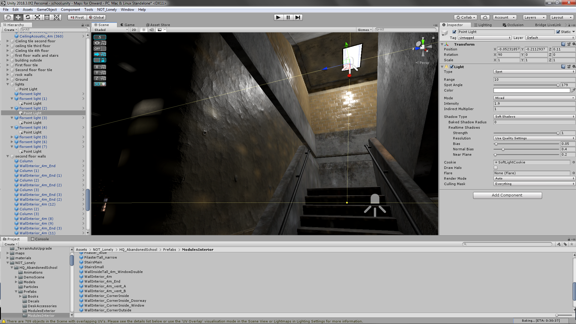 specular turning on and off based on light possition - Unity Forum