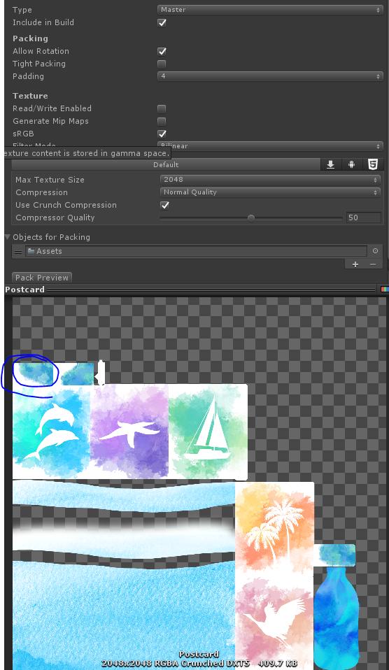 Artifacting on SpriteAtlas texture on iOS - Unity Forum