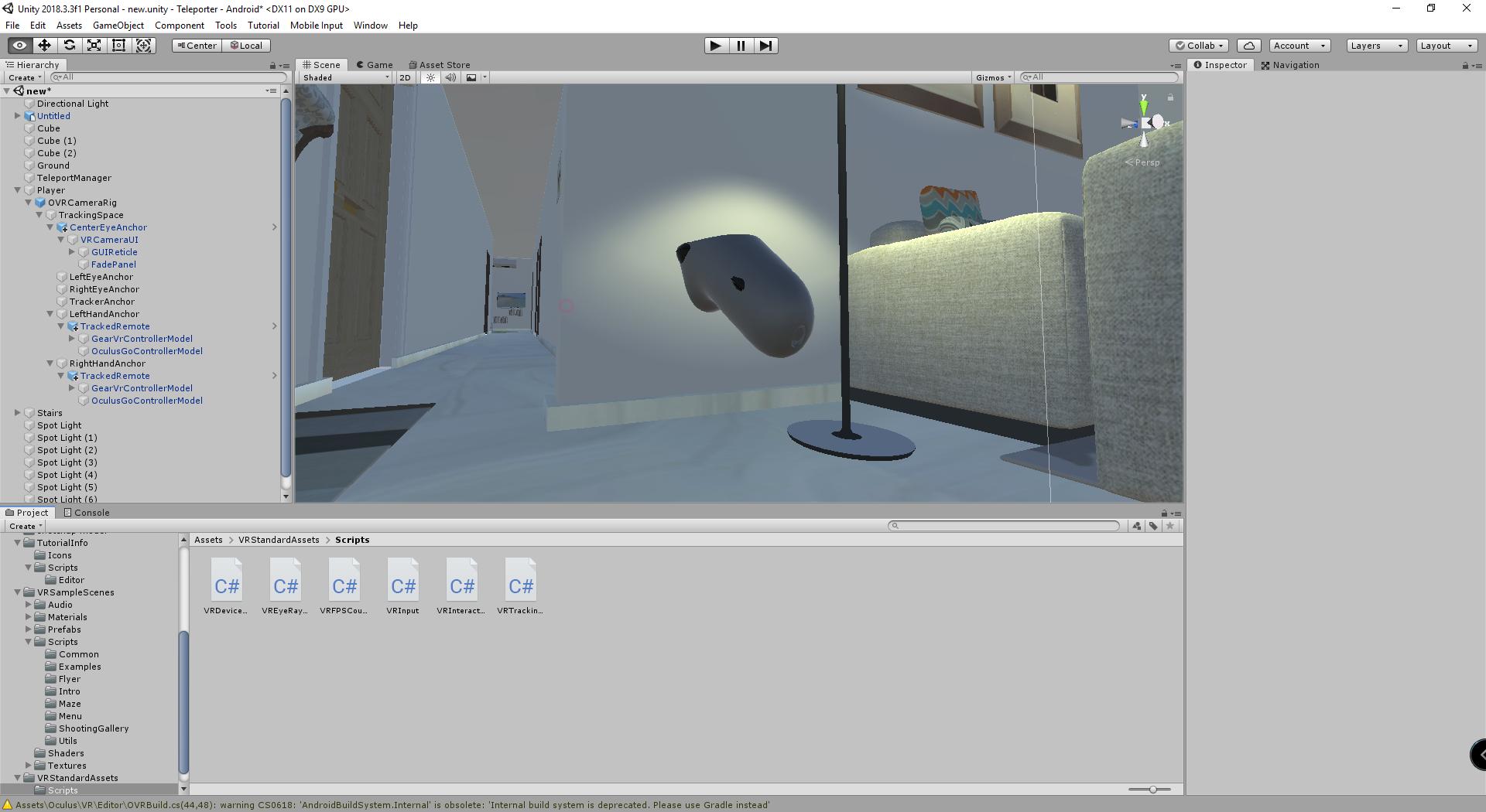 click to move (VR , Oculus Go) - Unity Forum