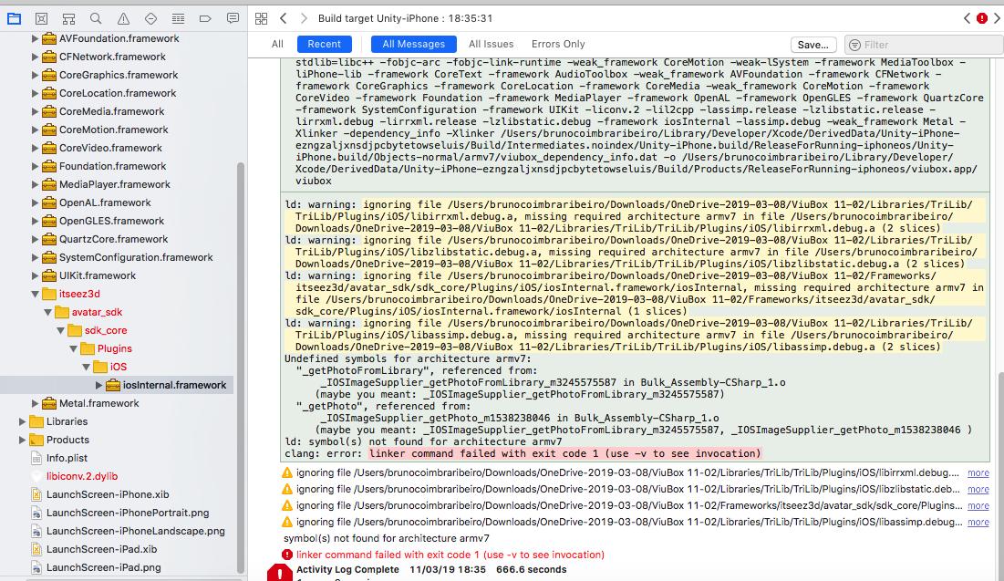 xCode build error - Unity Forum