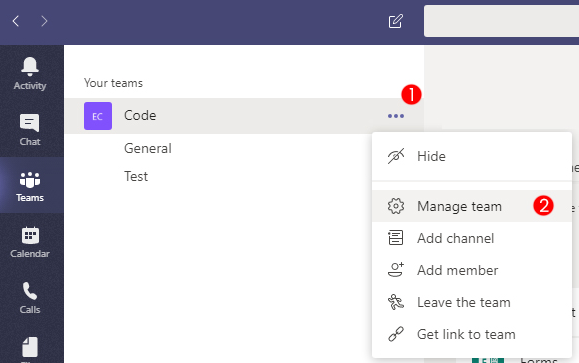 Guide: Creating a cloud build bot in Microsoft Teams - Unity