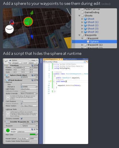 Hidden objects in game but not in editor? - Unity Forum