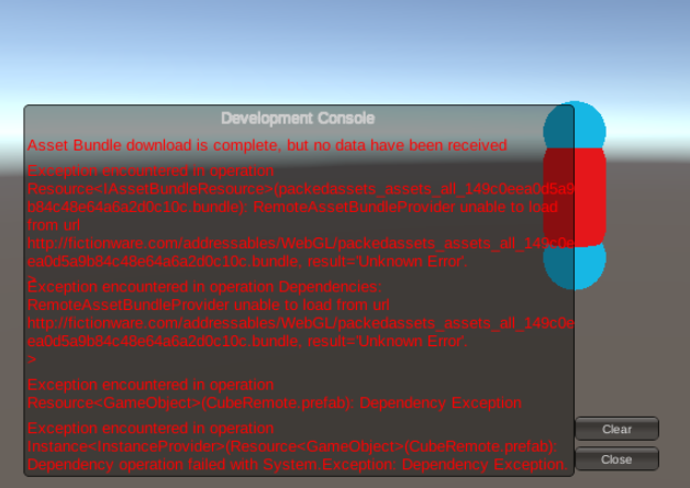 WebGL issues with addressables from remote server - Unity Forum