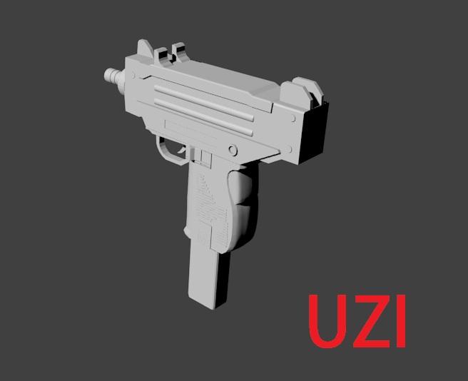 Free Blender Models - MP5 , Uzi , Airplane and Dj Equipment
